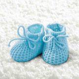 20 Servietten Babyschuhe Baby Schuhe Booties 3-lagig 33x33cm Junge Mädchen Geburt Taufe