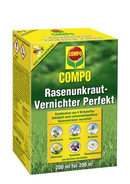 13 35 1stk compo rasenunkraut vernichter perfekt 200 ml rasen unkrautvernicht ebay. Black Bedroom Furniture Sets. Home Design Ideas