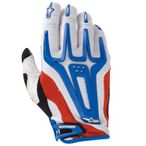 Alpinestars A-Line Glove DH Fahrrad Handschuh weiss/blau/rot