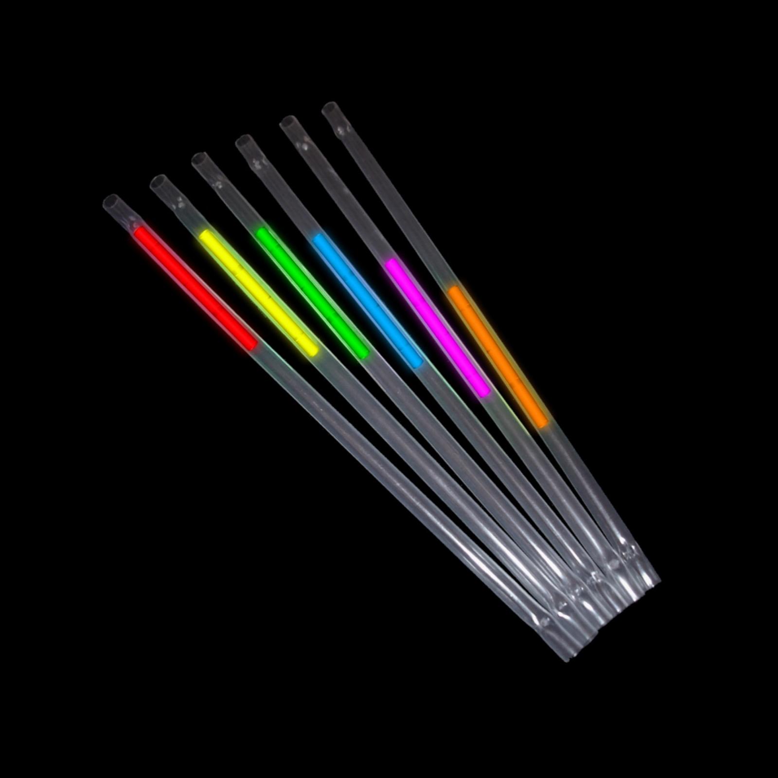 Neon Strohhalme