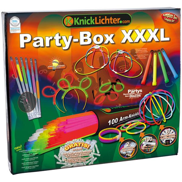 Party Box und Specials