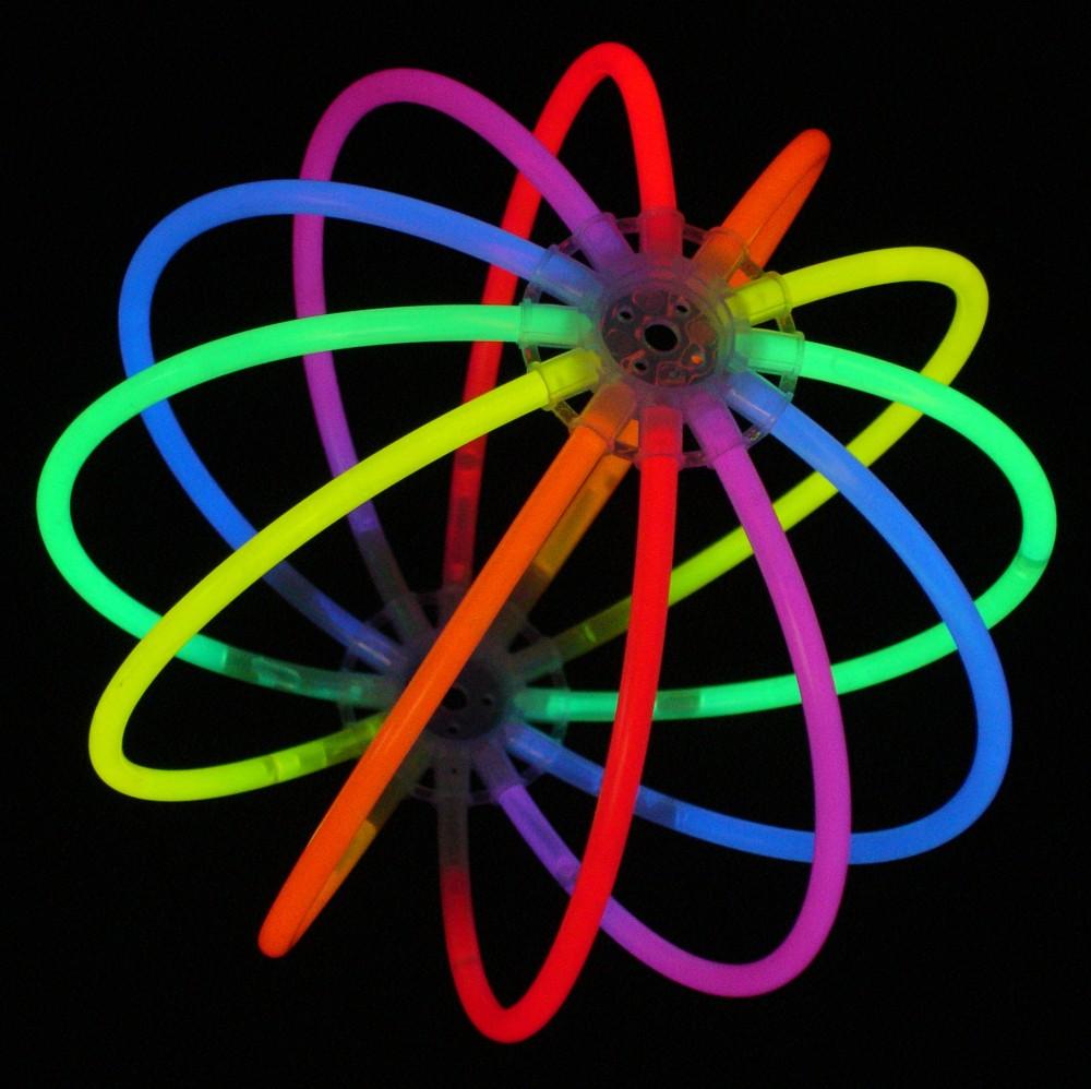 1 knicklichter leucht ball multicolor bunt testnote 1 4 sehr gut komplett set. Black Bedroom Furniture Sets. Home Design Ideas
