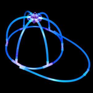 "1 Leucht- Kappe ""Base Cap"" BLAU Testnote: 1,4 ""SEHR GUT"" Komplett-Set – Bild 3"
