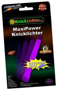 10 Maxi Power LILA (violett) (150x15mm) – Bild 1