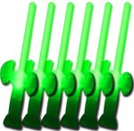 6 Glow Swords GREEN (buy 5 get 1 free!)