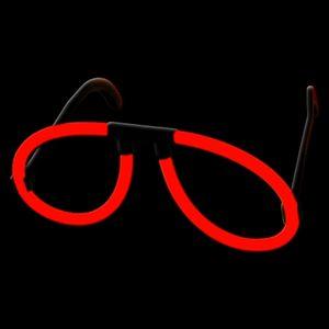 10 Piloten Brillen ROT Komplettset – Bild 3