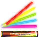5 UltraStar Glow Sticks 5-COLOR MIX (400x20mm)