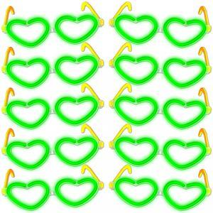 Knicklichter Brillen Herz 10er Set – Bild 2