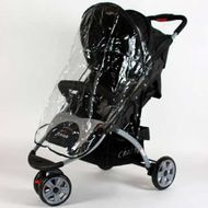 Raincover ST711 ST622 Pushchair Buggy BLACK universal