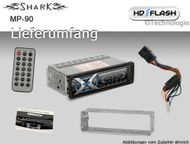 MP90 MP3 WMA Autoradio USB & SD Reflex Design 180 WATT bis 64GB Bild 2