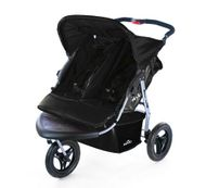 TT14 - CROWN TWIN-pushchair BLACK - GENERATION 2.0