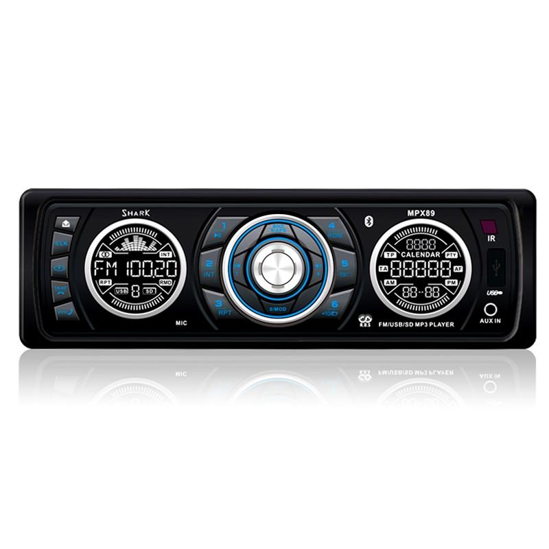 MPX89 Car Radio MP3 with USB & SD, HD Tuner, Bluetooth