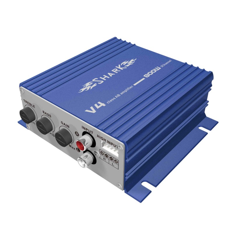 Shark Amplifier V4 Blue 2-Channel