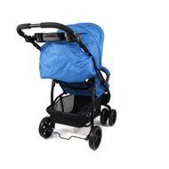 ST560 - CROWN Kinderwagen Buggy Sport Jogger  Farbe:  Blau