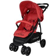 ST560 - CROWN Kinderwagen Buggy Sport Jogger  Farbe:  Rot