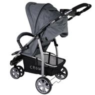 ST712  CROWN Kinderwagen Buggy Sport Jogger  Farbe:  GREY Bild 2
