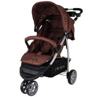 ST712  CROWN Pushchair Buggy Sport Jogger  Colour:  BROWN