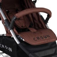ST712  CROWN Kinderwagen Buggy Sport Jogger  Farbe:  BROWN Bild 3