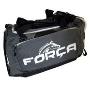 FORCA Sporttasche Grey / Black