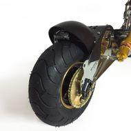 FORÇA Evoking 3.6 Elektro-Scooter mit 15AH Bleigel-Akku 48 V 1000 W Straßenzulassung EEC 45km/h Topspeed in Sonderlackierung Chrome Bild 3