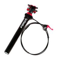 SPS400 27.2 mm RED Seatpost Adjustable Seat Post with REMOTE Lever Vario Bild 1