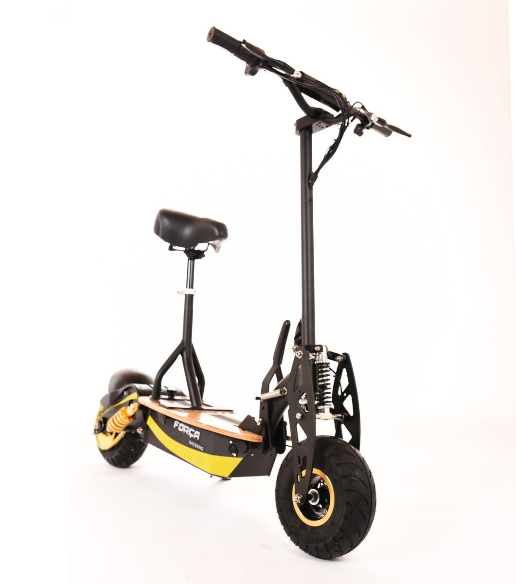 FORÇA Raceking II 35 km/h Scooter Black-Gold Edition