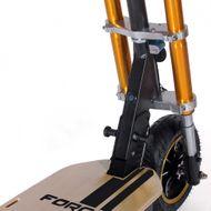 FORÇA Bossman-S Elektro-Scooter mit 18AH Bleigel-Akku 48 V 1500 W Straßenzulassung EEC 45km/h Topspeed in Schwarz-Gold Bild 2