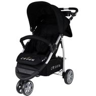 ST712  CROWN Kinderwagen Buggy Sport Jogger  Farbe:  BLACK