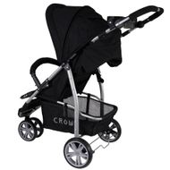 ST712  CROWN Kinderwagen Buggy Sport Jogger  Farbe:  BLACK Bild 2