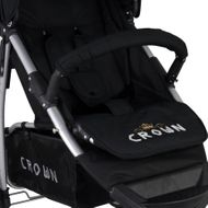 ST712  CROWN Kinderwagen Buggy Sport Jogger  Farbe:  BLACK Bild 3