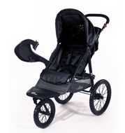"CROWN ""ST915"" Single-Kinderwagen/Jogger Schwarz Bild 2"