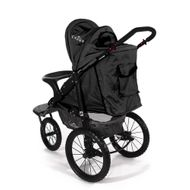 "CROWN ""ST915"" Single-Kinderwagen/Jogger Schwarz Bild 3"