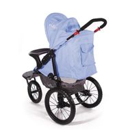 "CROWN ""ST915"" Single-Kinderwagen/Jogger Blau Bild 3"