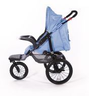 "CROWN ""ST915"" Single-Kinderwagen/Jogger Blau Bild 5"