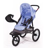 "CROWN ""ST915"" Single-Kinderwagen/Jogger Blau Bild 2"