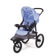 "CROWN ""ST915"" Single-Kinderwagen/Jogger Blau"