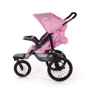 "CROWN ""ST915"" Single-Kinderwagen/Jogger Pink Bild 6"