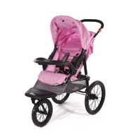 "CROWN ""ST915"" Single-Kinderwagen/Jogger Pink"