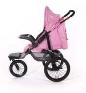 "CROWN ""ST915"" Single-Kinderwagen/Jogger Pink Bild 5"