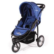 "CROWN ""ST916"" Single-Kinderwagen Jogger Blau Bild 2"