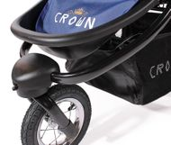 "CROWN ""ST916"" Single-Kinderwagen Jogger Blau Bild 6"