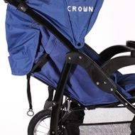"CROWN ""ST916"" Single-Kinderwagen Jogger Blau Bild 5"
