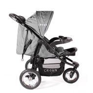 "CROWN ""ST916"" Single-Kinderwagen Jogger Grau Bild 5"