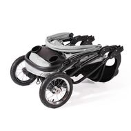 "CROWN ""ST916"" Single-Kinderwagen Jogger Grau Bild 4"