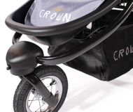 "CROWN ""ST916"" Single-Kinderwagen Jogger Grau Bild 7"