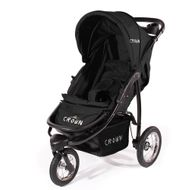 "CROWN ""ST916"" Single-Kinderwagen Jogger Schwarz Bild 2"