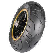 FORÇA Felge hinten mit Reifen für BOSSMAN-S Black-Gold