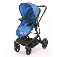 CROWN ST850 Kinderwagen Travel System Blau
