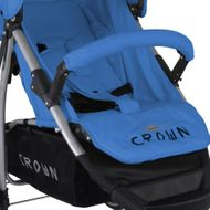 CROWN ST712 Kinderwagen Buggy Sport Jogger in BLAU Bild 3