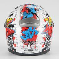 "SCOOZE Helm/Integralhelm ""Dual Visier"" SZ-FF001 Bunt Gr. M Bild 3"